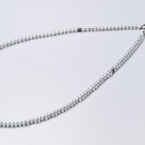 PHITEN TITANIUM & CRYSTAL NECKLACE (3mm)