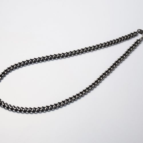PHITEN CARBONIZED TITANIUM CHAIN NECKLACE