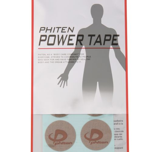 PHITEN POWER TAPE, OVERSEAS, 10 DISCS